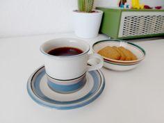 Arabia finland Uhtua coffee cup Scandinavian Style, Finland, Coffee Cups, Porcelain, Tableware, Vintage, Design, Coffee Mugs, Porcelain Ceramics