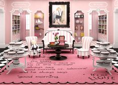 Eloise Miniature photo - Tea Room - View 3 - this is insanely cute!!!