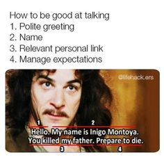 18 Princess Bride Memes That Remind Us Why The Movie Is Brilliant Funny Shit, Stupid Funny Memes, Funny Relatable Memes, Funny Posts, The Funny, Funny Quotes, Funny Stuff, Quotes Quotes, Random Stuff