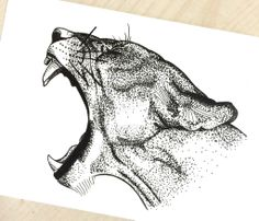 lioness by jjezszica on DeviantArt lioness by Dotted Drawings, Pencil Art Drawings, Art Drawings Sketches, Animal Sketches, Animal Drawings, Dessin Game Of Thrones, Stippling Drawing, Lioness Tattoo, Fierce Tattoo