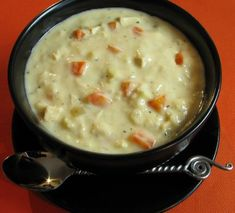 For the Love of Cooking » Creamy Chicken and Rice Soup
