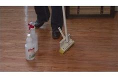 Hardwood is a beautiful flooring that is long-lasting. Regular foot traffic and cleaning with store-bought cleaners and wax causes hardwood to look scuffed, dirty and dull. But you can revive a hardwood floor to make it look new and add a wet shine to it as well. To get the look of a freshly cleaned, shiny and wet hardwood floor, you'll only need...