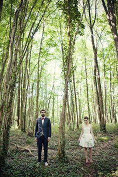 un mariage dans la foret