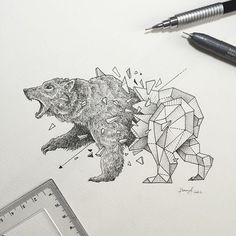 Geometric Beasts   Grizzly