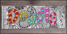 doodled bookmark by Eden