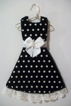 50's Darling Miniature Dress by agapeboutique on Etsy, $9.95