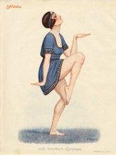 F. Rebour 1924 La Danseuse Olympique