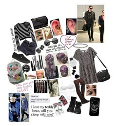 """""""day to night with michael clifford #3....Coming back from london arriving in newyork city, and then yhat nigjt you want some alone time with michael so he take to a really nice small bluegrass club that you guys have some really nice time."""" by clumsycinderella2992 on Polyvore featuring TIBI, American Apparel, Vans, Zara, H&M, Charlotte Russe, Givenchy, Black Rivet, Bobbi Brown Cosmetics and Nina Ricci"""