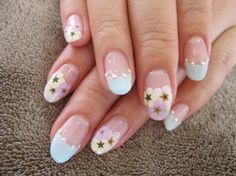 Twinkle twinkle little star   Nail art design