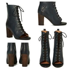 Jeffrey Campbell Black Quentin Boot