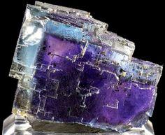 Fluorite phantom from Illinois