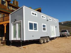 The Park City by Upper Valley Tiny Homes of Pleasant Grove, Utah. A 256 sq ft tiny house on wheels.