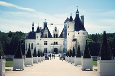 Chateau Chenonceau in the Loire Valley, France. www.MakingMagique...