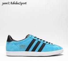 uk availability 35c2d 846d6 Basketball men Adidas Originals Gazelle OG solar blue, black, Bluebird,  gold metallic HOT