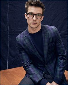 A classic Blackwatch wool flannel makes for a smart plaid sport coat from Todd Snyder.