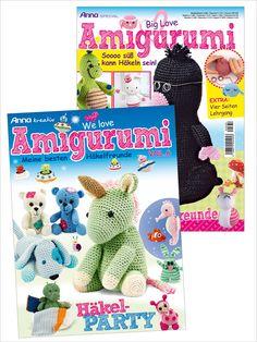 Zwei Zeitschriften: Amigurumispaß im Doppelpack - Vol.1 und Vol. 6