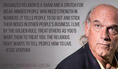 Jesse Ventura #atheist #atheism