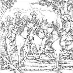 from the The Official Outlander Coloring Book by Diana Gabaldon. The English soldiers