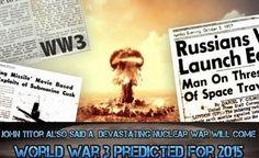 Previsões de John Titor estariam se Concretizando? 3ª Guerra Mundial o FIM!!
