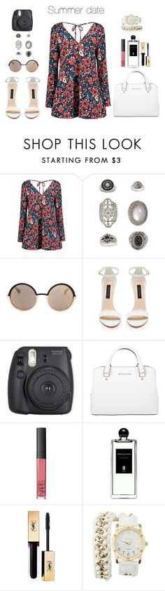 """""""Sin título #269"""" by danny-rv ❤ liked on Polyvore featuring beauty, Topshop, Marc by Marc Jacobs, Michael Kors, NARS Cosmetics, Serge Lutens, Yves Saint Laurent and Charlotte Russe"""