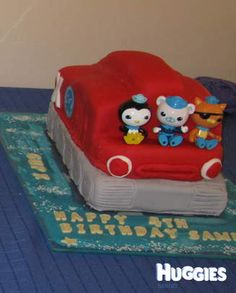 Octonauts Gup X Cake