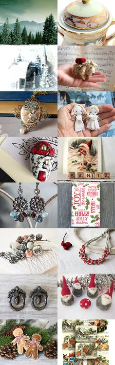 Christmas Treasure by FrenchPaperMoon on Etsy--Pinned with TreasuryPin.com