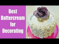 Gorgeous Best Frosting For Decorating Cakes with regard to Best Buttercream Frosting For Decorating With Jill Picture Best Frosting Recipe, Best Buttercream Frosting, Fondant Icing, Frosting Recipes, Homemade Cake Icing, Best Cake Mix, Easy Cake Decorating, Decorating Ideas, Individual Cakes