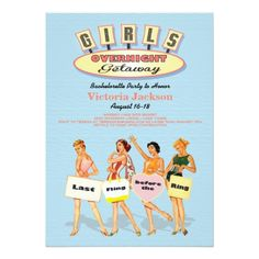 Girls Weekend Getaway Invitations Girls weekend Weekend getaways