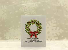 Merry Little Christmas Card Set ThePaperMenagerie