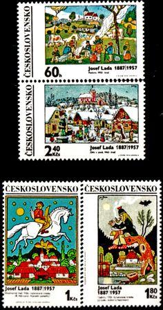 Poštovní známky Československo European Countries, Typography Prints, Czech Republic, Postage Stamps, Bratislava, Retro, Country, Illustration, Artist