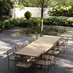 If you are looking for an outdoor table for ten or more guests then our Chunky Extendable Dining table is the solution