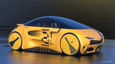 Scifi Concept car