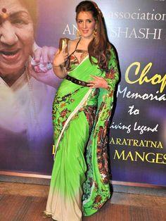 Pria Kataria Puri at the Yash Chopra Memorial Award. #Fashion #Style #Beauty #Page3