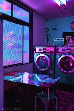 Cyberpunk Aesthetic, Neon Aesthetic, Aesthetic Images, Aesthetic Japan, Aesthetic Anime, Et Wallpaper, Purple Wallpaper, Wallpaper Aesthetic, Aesthetic Backgrounds
