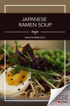 Japanese Ramen Soup Save Recipe Print Ingredients for the stock 5 cups of chicken, vegetable or fish stock 3 garlic cloves 4 tbsp soy sauce 1 tsp Worcestershire sauce tsp Ch… Ramen Soup, Ramen Noodles, Edamame Beans, Japanese Ramen, Fish Stock, Corn Kernel, Love Food, Beef, Vegetables