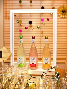 Sauza Sparkling Margarita Mixers for the holidays of a fiesta