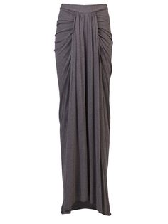Shop new season Rick Owens Lilies Skirts for women at Farfetch. Choose iconic pieces from the world's best labels. Maxi Skirt Outfits, Long Maxi Skirts, Midi Skirts, Modest Outfits, Summer Outfits, Muslim Fashion, Modest Fashion, Apostolic Fashion, Modest Clothing