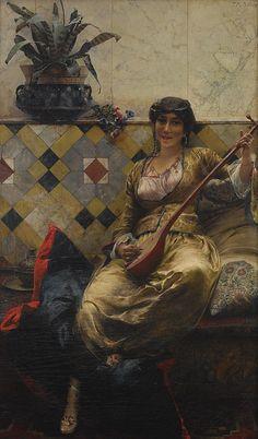Ferdinand Max Bredt - Serenade in Harem