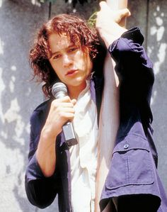 "10 Things I hate about you - Link to the video where Heath Ledger sings ""Can't Take My Eyes Off of You."" http://www.youtube.com/watch?v=w6XGUhzfutc"