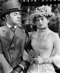 "Charles Boyer, Ingrid Bergman in ""Gaslight"" (1944). Director: George Cukor."