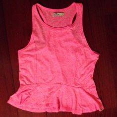 HOLLISTER PINK SUMMER TANK NWOT in perfect condition Hollister Tops Tank Tops