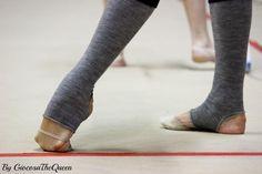 Charkashyna's feet
