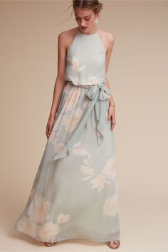 BHLDN Alana Dress in  Bridesmaids Bridesmaid Dresses Long | BHLDN