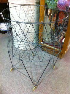 Antique laundry basket at Jesse James Antique Mall/dealer 567 we have 3