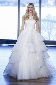 Wedding gown by Alyne by Rita Vinieris.