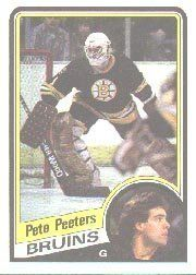 1984-85 Topps #12 Pete Peeters by Topps. $0.39. 1984 Topps Co. trading card in near mint/mint condition, authenticated by Seller