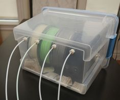 3D Printer Filament Dry Box