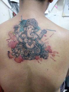 Ganesha Tattoo Boo's Ink Tattoo Kalibata City Jakarta Selatan 081285418087