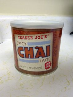 What's Good at Trader Joe's?: Trader Joe's Spicy Chai Latte