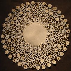 After stumbling awestruck from viewing the Aemilia Ars needle lace at the Collezioni Comunali d'Arte Museum (see Part One ) my two lovely. Needle Lace, Bobbin Lace, Antique Lace, Vintage Lace, Crochet Doilies, Crochet Lace, Crochet Edgings, Crochet Motif, Crochet Shawl